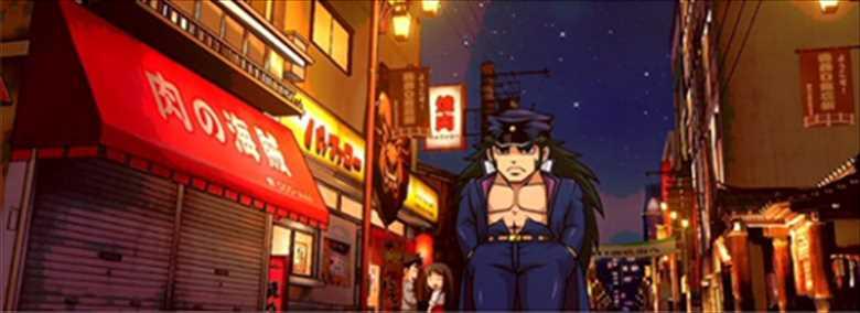 商店街-夜